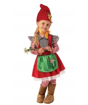 Costum fete Spiridusa cu cizme