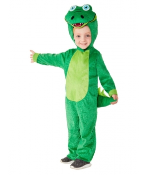 Costum carnaval copii Crocodil verde