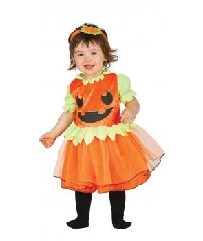 Costum Halloween fete Dovlecica baby