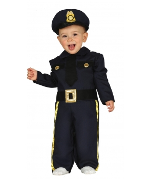 Costum carnaval copii Politist baby
