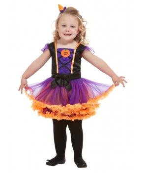 Costum Halloween fete Dovlecica cu mov