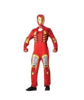 Costum carnaval barbati Iron Man cu licenta