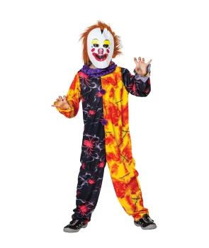 Costum Halloween copii Clovn cu masca