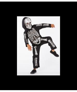 Costum Halloween copii Schelet cu masca