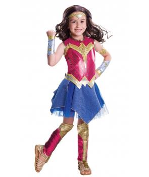 Costum carnaval fete Wonder Women de lux