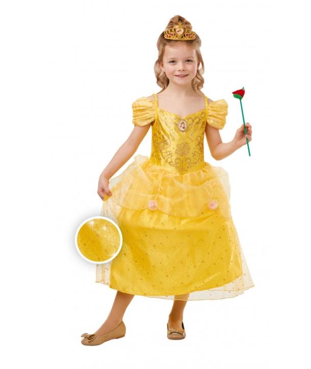 Costum carnaval Printesa Belle cu licenta