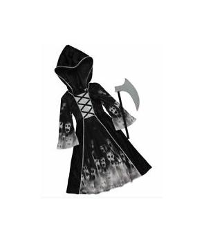 Costum Haloween fete Fantoma cu coasa