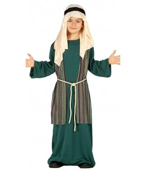 Costum Craciun copii Pastor cu verde