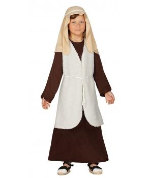 Costum Craciun copii Pastor cu vesta