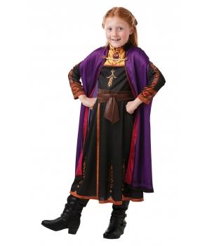 Costum carnaval fete Anna Frozen 2 cu mov