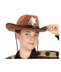 Palarie cowboy -serif copii