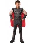 Costum carnaval copii Thor de lux Avengers