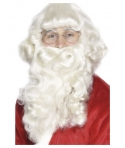 Set barba si peruca Mos Craciun model 1