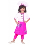 Costum bucatar fete Barbie