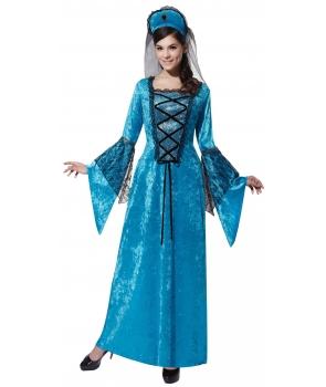 Costum carnaval femei Printesa medievala