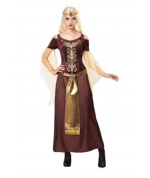Costum carnaval femei medieval