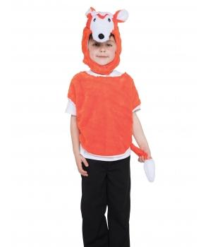 Costum copii poncho vulpe
