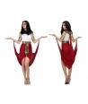 Costum carnaval femei Egipteanca cu visiniu