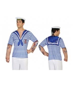 Tricou marinar cu tatuaje