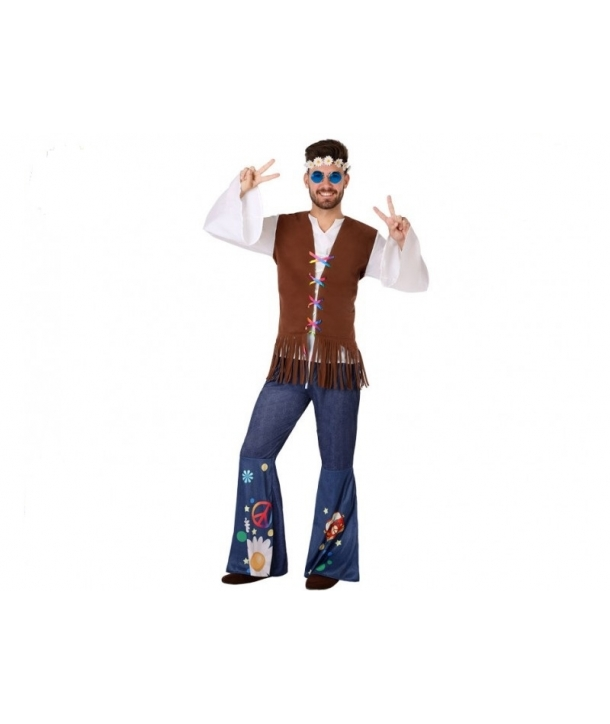 Costum carnaval Hippie barbati