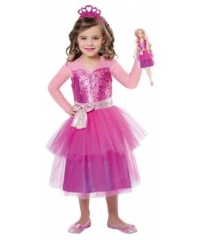Costum carnaval fete Barbie papusa