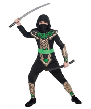 Costum carnaval copii Dragon Ninja