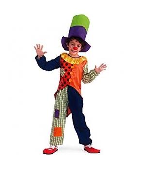 Costum carnaval copii Clovn cu palarie
