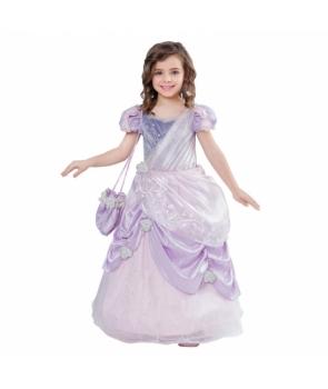 Costum carnaval fete Printesa mov(Rapunzel)