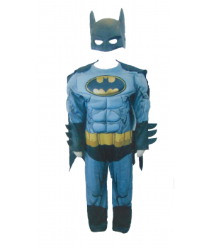 Costum carnaval copii Batman gri