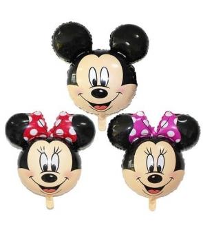 Set 3 baloane Minnie si Mickey
