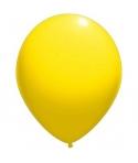 Set 12 baloane latex galbene