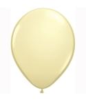 Set 12 baloane latex ivoire