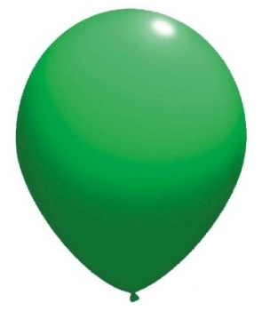 Set 12 baloane latex verzi