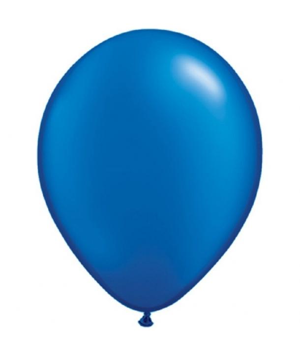 Set 20 baloane latex albastre