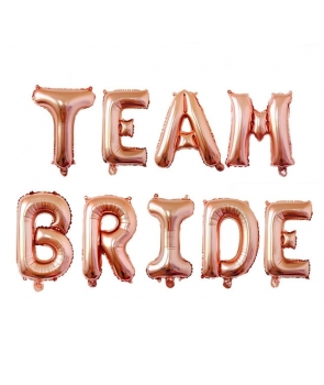 Set baloane folie Team Bride