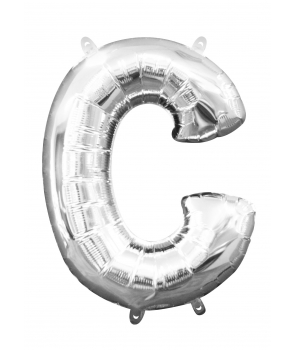Balon folie litera C