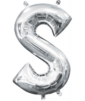 Balon folie litera S