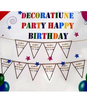 Decoratiune party Happy Birthday