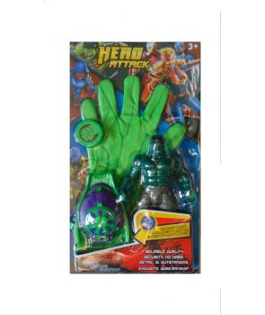 Manusa lansator Hulk cu figurina