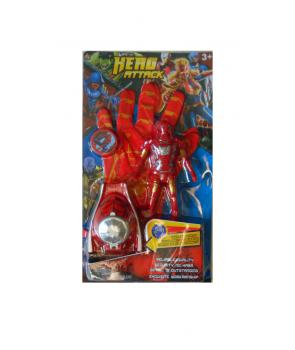 Manusa lansator Iron Man cu figurina