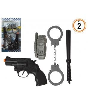 Set 4 accesorii politist