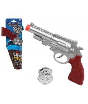 Pistol si insigna politist