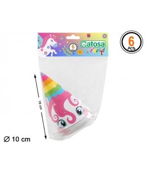 Set 6 coifuri unicorn