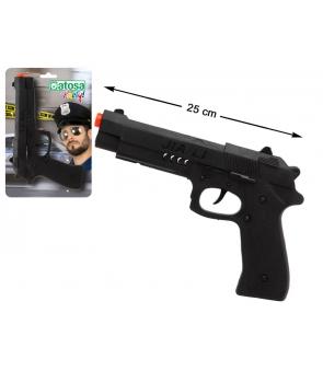 Pistol jucarie negru cu sunet