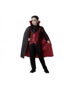 Costum Halloween baieti vampir