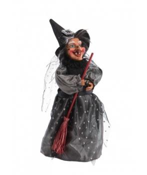 Decor Halloween vrajitoare cu sunet si lumini