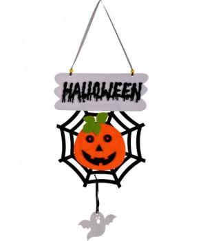 Decor Halloween cu dovleac