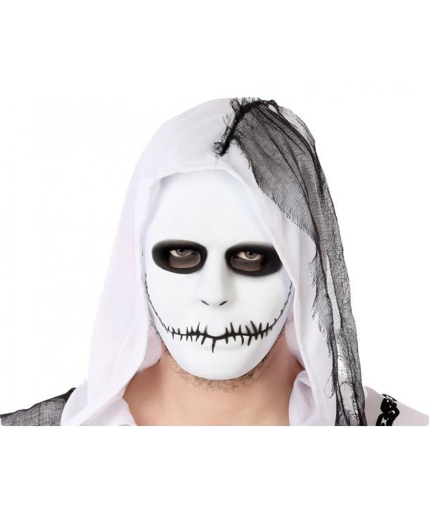 Masca Halloween alba