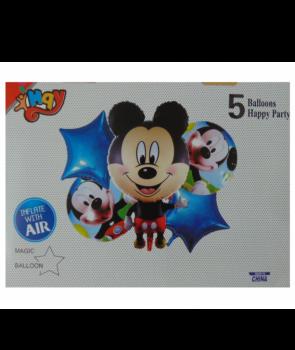 Set baloane folie Mickey