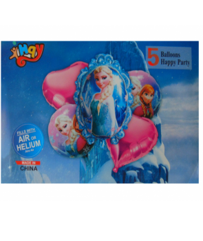 Set 5 baloane folie Elsa Frozen